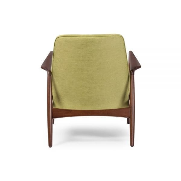 Carter Danish Modern Lounge Chair Back