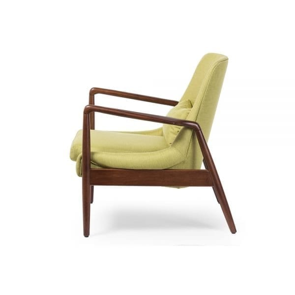 Carter Danish Modern Lounge Chair Side