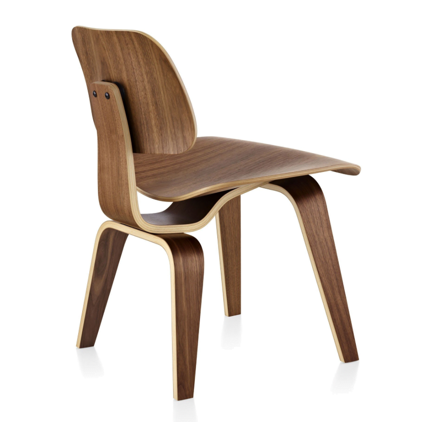 Eames Molded Plywood Chair LCW