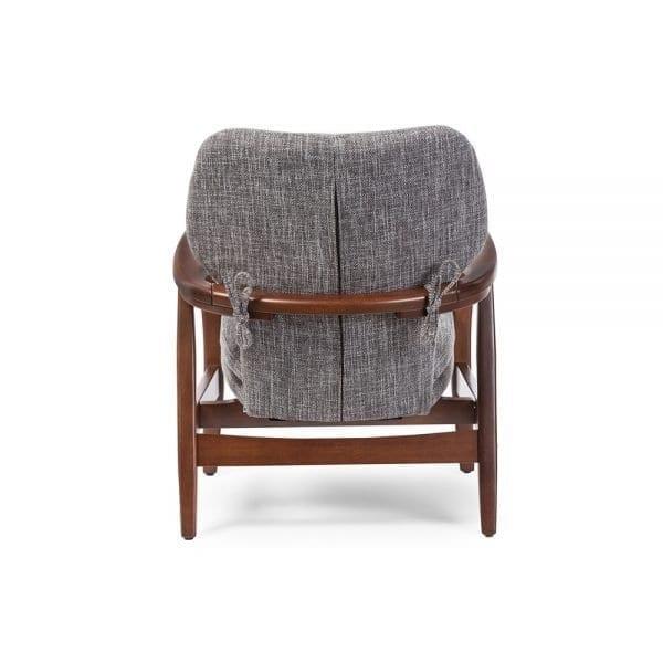 Grey Finn Juhl Model 1 Chair Back