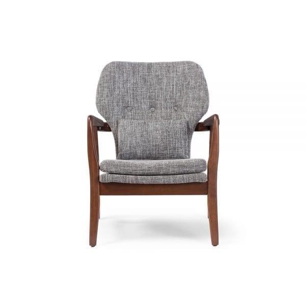 Grey Finn Juhl Model 1 Chair Front