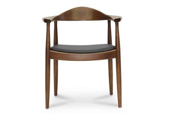 Wegner Round Chair Front