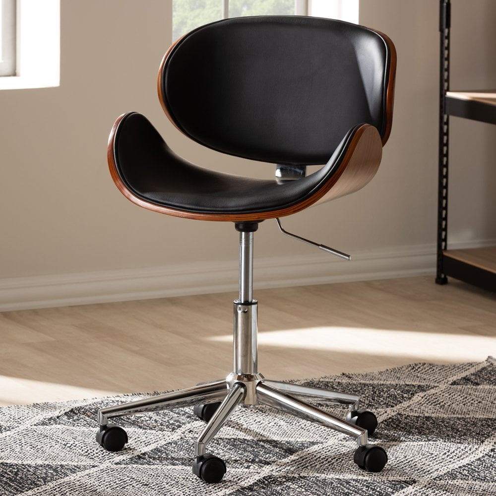 Ambrosio Bent Plywood Office Chair Molded Wood Design