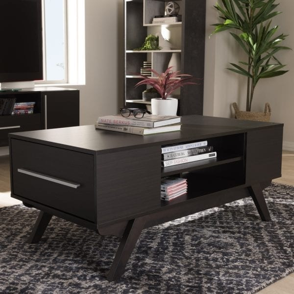 Ashfield Coffee Table Espresso Brown Living Room