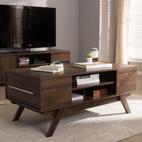 Ashfield Coffee Table Walnut Living Room
