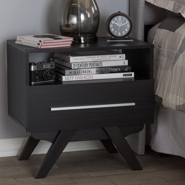 Ashfield Nightstand Espresso Lifestyle