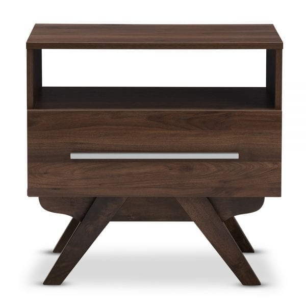 Ashfield Nightstand Walnut Front