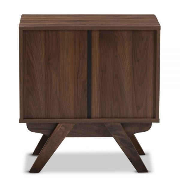 Auburn Nightstand Walnut Back