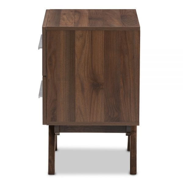 Auburn Nightstand Walnut Side