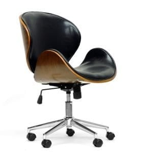 Bruce Bent Plywood Office Chair Black