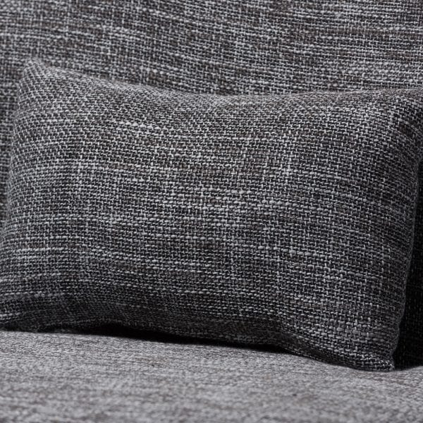 Carter Danish Modern Loveseat Pillow Detail