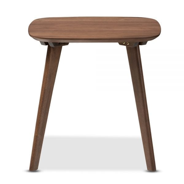 Dahlia Minimalist End Table Side