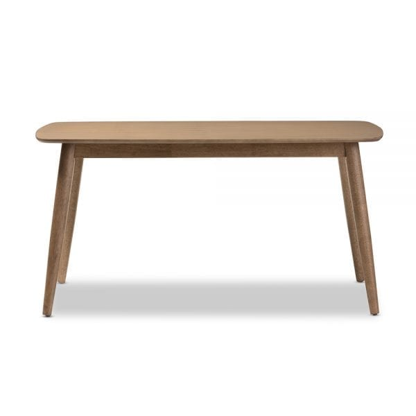 Edna Minimalist Dining Table Length