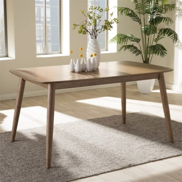 Edna Minimalist Dining Table Lifestyle