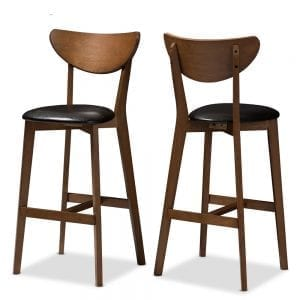 Eline Danish Modern Bar Stools Main