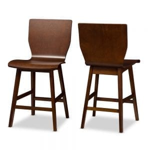 Elsa Bent Wood Counter Stools Main