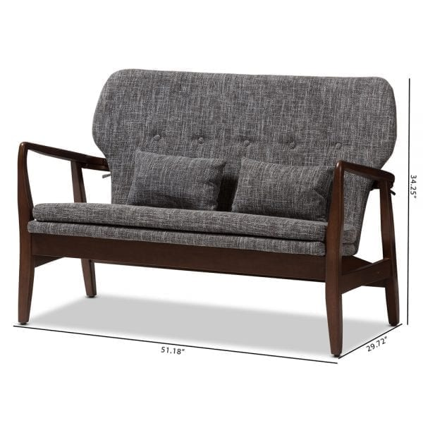 Finn Juhl Model 1 Loveseat Dimensions