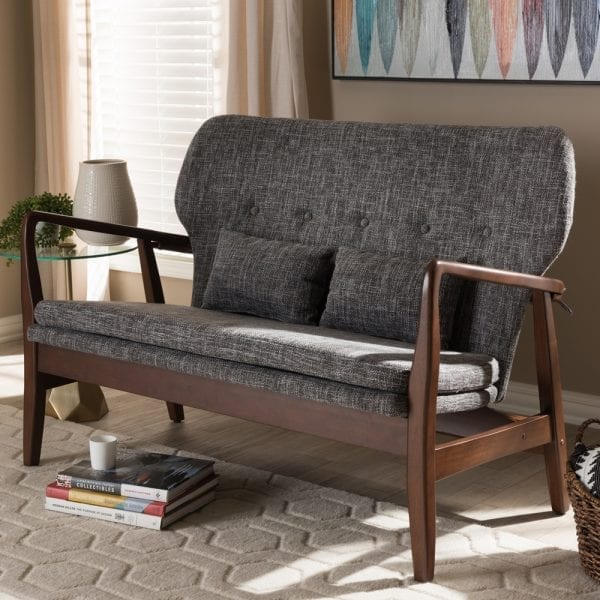 Finn Juhl Model 1 Loveseat Living Room