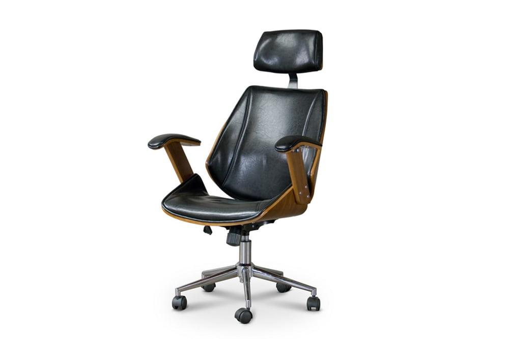 Hamilton Modern Office Chair Bent Plywood Design Mid Decco