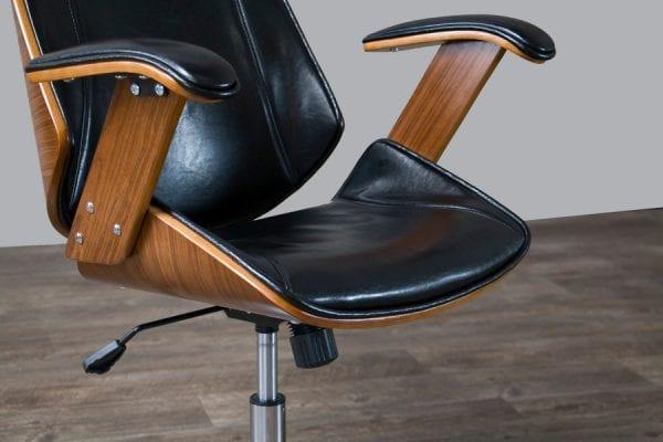Hamilton Modern Office Chair Seat Detail