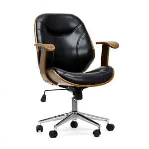 Rathburn Modern Office Chair Black Main
