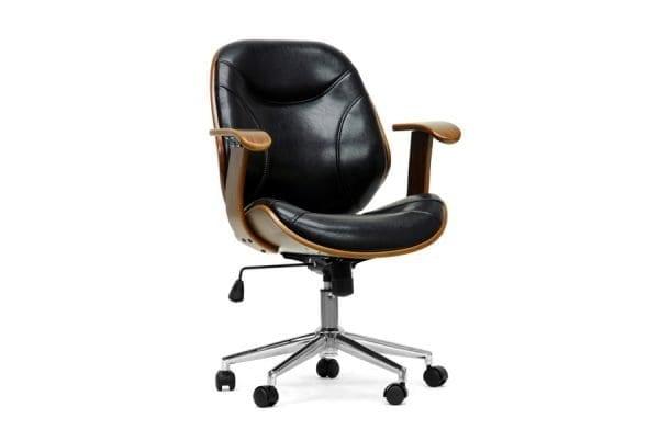 Rathburn Modern Office Chair Black Main