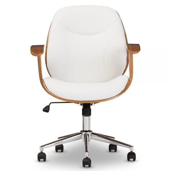 Rathburn Modern Office Chair White Main