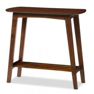 Sacramento Scandinavian Console Table Angle