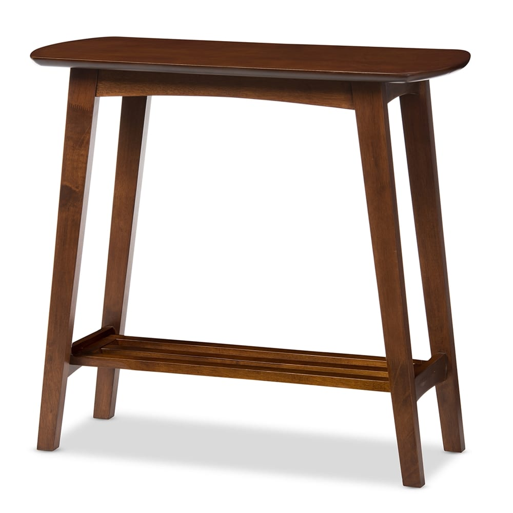 Sacramento Scandinavian Console Table Angle