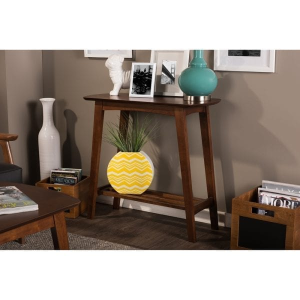Sacramento Scandinavian Console Table Lifestyle