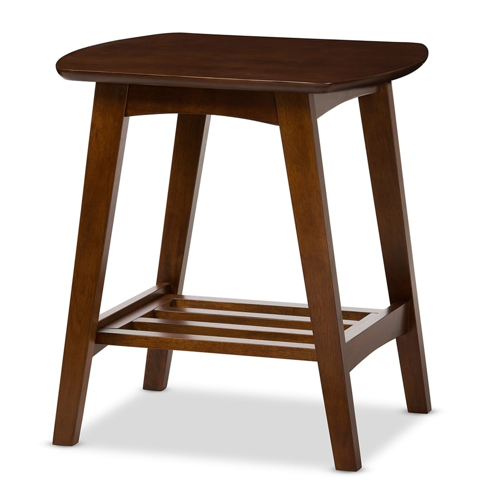 Sacramento Scandinavian End Table Angle