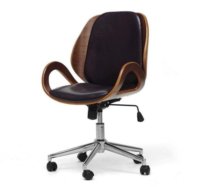 Watson Modern Office Chair Black Vertical