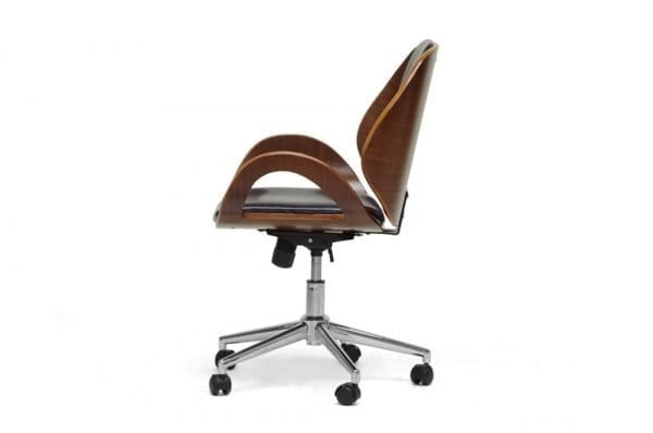 Watson Modern Office Chair Black Side