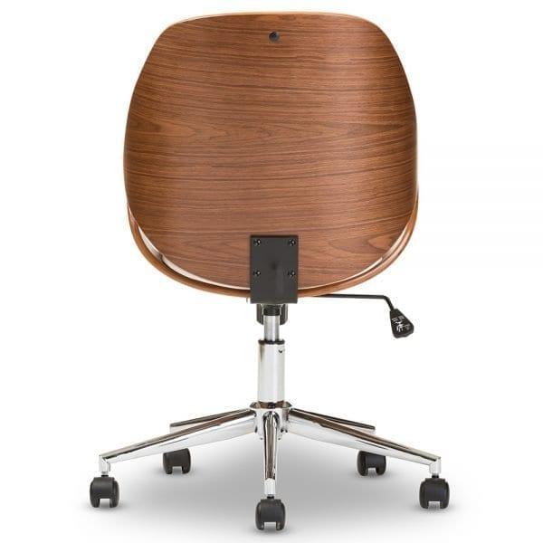 Watson Modern Office Chair White Back