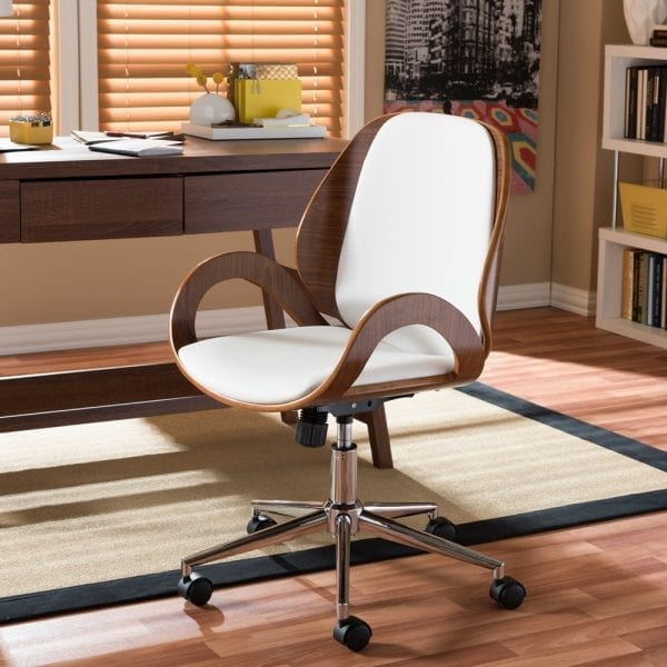 Watson Modern Office Chair White Office