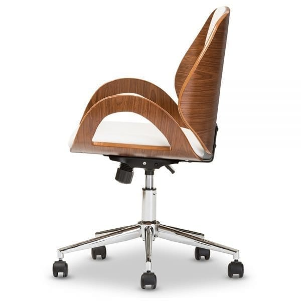 Watson Modern Office Chair White Side
