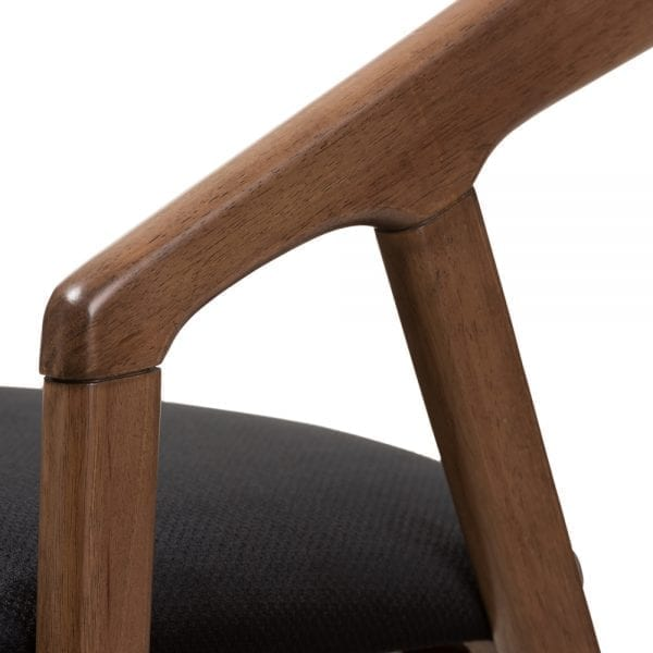 Wendy Modern Dining Chairs Arm Detail