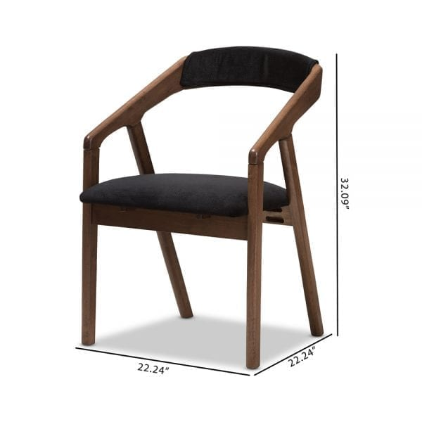 Wendy Modern Dining Chairs Dimensions
