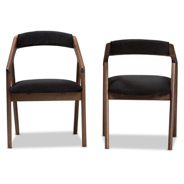 Wendy Modern Dining Chairs Front and Back