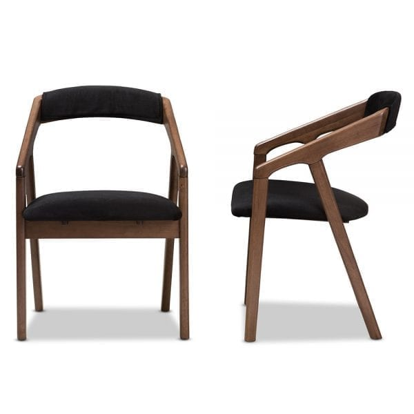 Wendy Modern Dining Chairs Front and Side