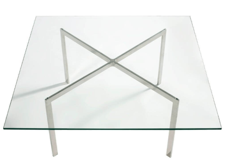 Mies van der Rohe-Style Pavilion Coffee Table by Eternity Modern