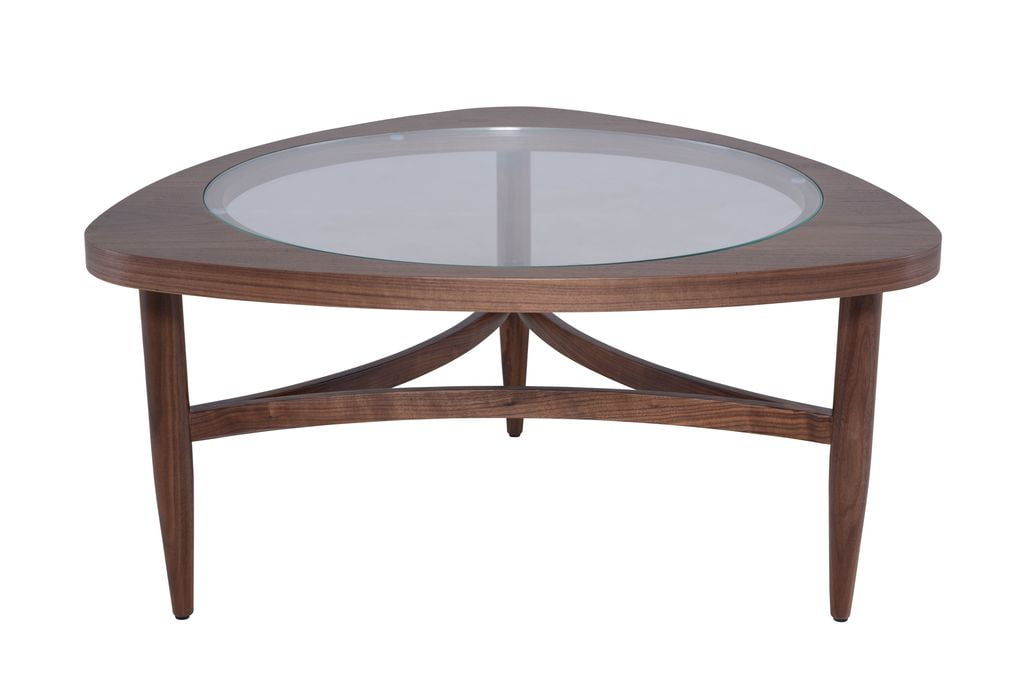 Small Isabelle Coffee Table in Walnut by Nuevo