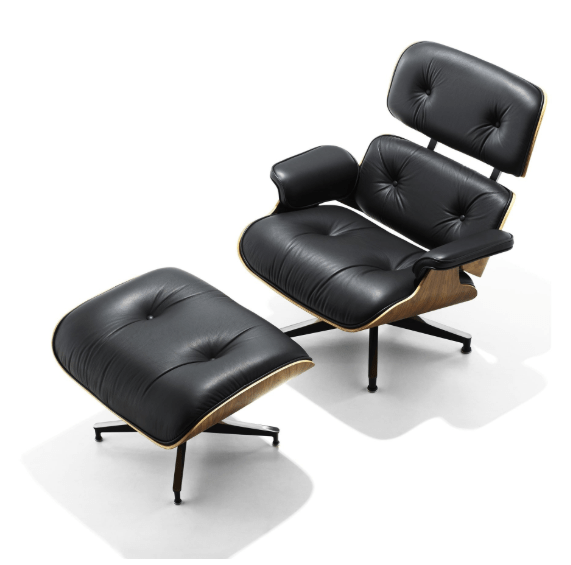 Excellent Eames Lounge Chair Ottoman The Original Mid Decco Dailytribune Chair Design For Home Dailytribuneorg