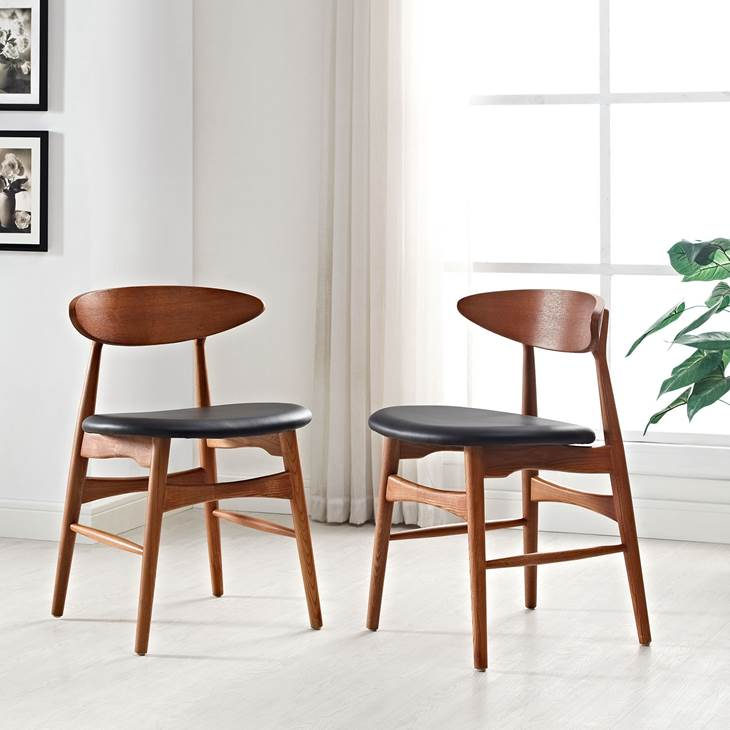 Ebee Dining Chairs by LexMod