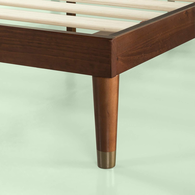 Zinus Deluxe Mid Century Modern Wood Platform Bed Mid Decco