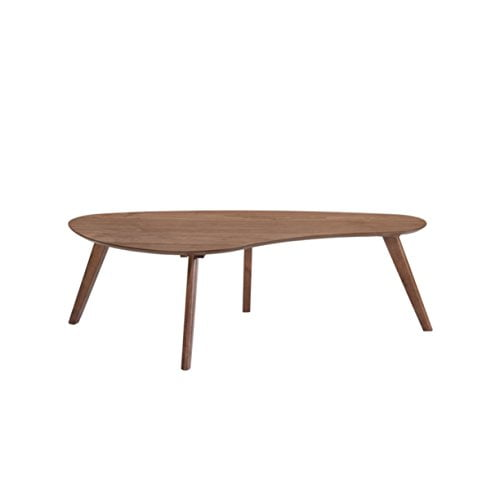 Curved Emerald Coffee Table