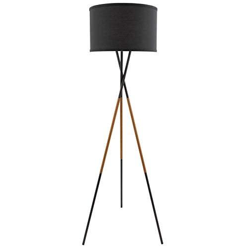 Sadie Mid Century Modern Tripod LED Floor Lamp