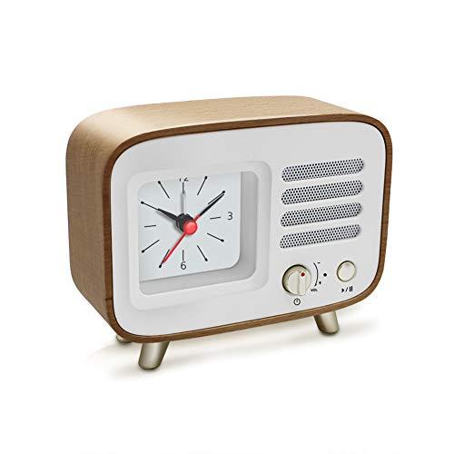 Ferrisland Alarm Clock With Bluetooth Speaker