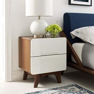 Modway 2-Drawer Bedroom Nightstand