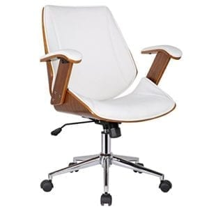 Noah Adjustable Chair with 360̊ Swivel, White
